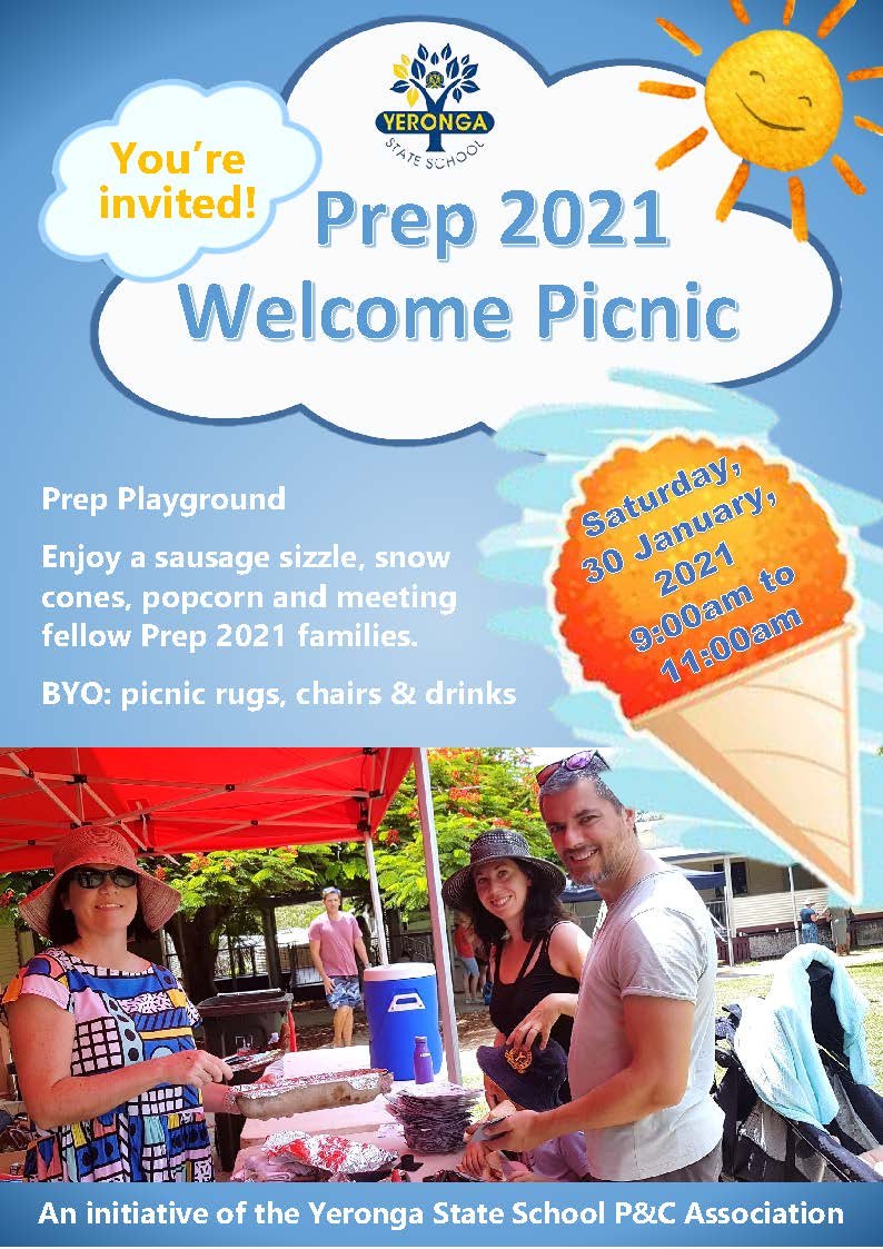 Yeronga-State-School-P-and-C-2021-Prep-BBQ-invitation